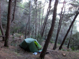Feb 2017 Mallorca GR221 - Camp south of Escallencs