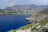 Saint Photis hike back to the beach