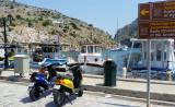 Scooters at Rina bay