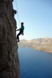 Summertime crag