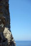 Telendos island, Pescatore crag