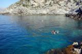 Swim before the Telendos boat leaves