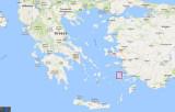 Map showing Kalymnos