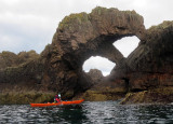July 17 Bullers of Buchan coast- double arch