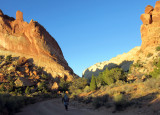 Upper muley twist in the evening on 4WD dirt road
