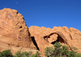 Upper muley twist- arch and moon