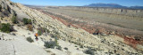 Waterpocket fold across to Tarantula Mesa and the Henry Mountains
