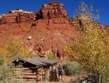 Hackberry canyon Watson Cabin- what a great spot