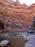 Dark canyon - Great hiking along limestone pavements
