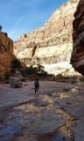Dark canyon- good flowing water