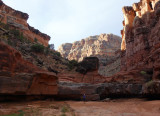 Lost canyon- we explored up this feeder canyon for a while