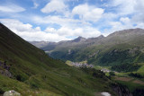 We started our Otztal hike from the the small ski resort of Obergurgl