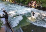 Surfers in Munich!