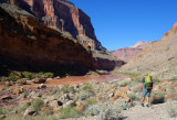 Day 2 hiking along the Colorado River