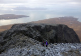 Jan 19 Skye Coir above sgumain stone shoot