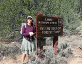 Day 5 Completing the loop, what a trip! Back at Indian Hollow trailhead