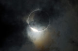 Solar Eclipse Diamond Ring Effect
