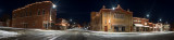 Christmas Eve 2017 Town Square Panorama
