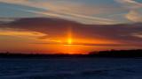 New Year's Sun Pillar