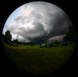Storm Clouds East of Albany