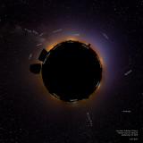 Fairview Light Dome Project - Little Planet - Labels