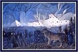 Wolf in winter by Joyce, June, 2017