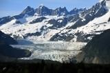 Mendenhall Glacier, Mendenhall Towers, Juneau, Alaska