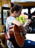 Local singer in Kihei Village 164
