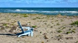 Chair with view on Jupiter Island Florida 040