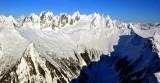 West Peak, Ottohorn, Himmelhorn, West Twin Needle, The Rake, Mt Terror, Mt Degenhardt, The Pyramid, Inspiration Peak 676