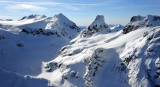 The Horseman, The Needle, Neve Glacier, Neve Peak, Paul Bunyans Stump, Pinnacle Peak, North Cascades National Park 459