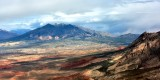 Henry Mountain Copper Creek Bench Little Rockies and Mt Ellsworth Ticaboo Utah 287
