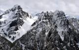 Del Campo Peak Foggy Pass Gothic Peak Cascade Mountains 364