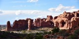 Parade of Elephants and Double Arch at  The Windows Section Arches National Park Utah 1010