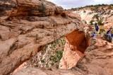 Taking risk for the shot at Mesa Arch Canyonlands National Park Moab Utah 198