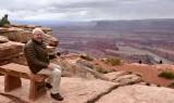 Charlie at Dead Horse Point State Park Moab Utah 446