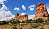 Square Butte and Setting Red Rocks White Mesa Arizona 265