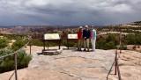 Nancy and Charlie and Katherine at Navajo National Monument Shonto 294