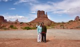 The Nguyens at Monument Valley and Merrick Butte 475