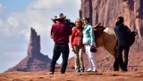 Nancy and Katherine at John Fords Point Monument Valley 710