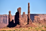Totem Pole and Sand Spring Monument Valley Navajo Tribal Park 760