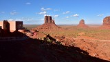Monument Valley and View Hotel viewpoint Navajo Tribal Park 808