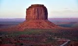 Merrrick Butte at Monument Valley Tribal Park 837