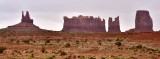 King-on-his-Thorne, Stagecoach, Bear and Rabbit, Castle Rock in Monument Valley 056