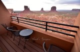 Room with view of Monument Valley Tribal Park 005
