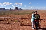 The Nguyens at Artist Point in Monument Valley Tribal Park 786