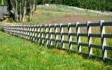 Fences on horse farm 267
