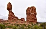 Balance Rock at Arches National Park Moab Utah 319