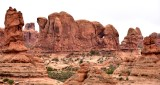 Parade of Elephants in Arches National Park Moab Utah 324