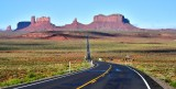Monument Valley from Forrest Gump Hill on Highway 163 Navajo Nation Utah 024a